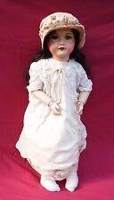 """Tall 24"""" Compo Doll Sleep Eyes SFBJ Size 12 Model 71 France"""