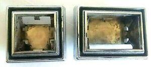 81-87 Dodge Ramcharger Pickup Electric Window Door Lock Switch Bezels D-Series