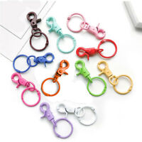 1pc DIY Key Rings Key Chain Jewelry Findings Lobster Clasp Keyring Making Craft