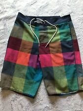 NWT Abercrombie & Fitch Men's Swim Trunks Board Short Size XS Colorful