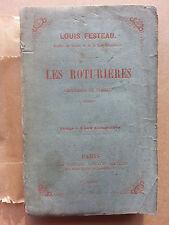 Les roturieres chansons et poésies par Festeau chez Veuillot 1859