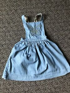 Mini Boden  Girls Overall Dress. Size 5-6Y.