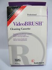 Radioshack - Videobrush VHS VCR Professional Cleaning Cassette System