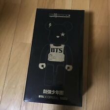 BE@RBRICK BTS 500 limited edition Bangtan Boys 400% MEDICOM TOY Bearbrick USED