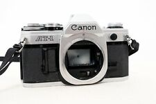 Vintage CANON AT-1 35mm film SLR camera body only PARTS REPAIR