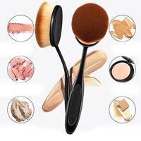 10pcs Oval Makeup Brushes Kit Set Powder Foundation Eyeshadow Eyeliner Lip Brush