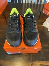 New Nike Air Zoom Prestige Tennis Shoes Black White Neon Aa8020-007 Size 9