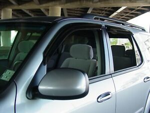 Tape-On Wind Deflectors: 2001-2007 Toyota Sequoia