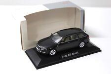1:43 Minichamps Audi a6 avant c6 Black Dealer New chez Premium-modelcars