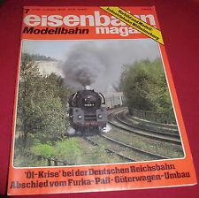 dachbodenfund zeitschrift heft eisenbahn magazin modellbahn juli 1982 alt