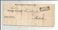Prusia V/dortmund ra2 (33 x 12,5) en esplendor-documento-impreso-carta 1860