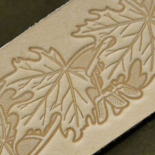 #1 LeatherCraft Stamp Set Embossing Die Cliche Vegetable Tannned Tooling Leather