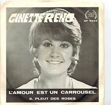 MFD IN CANADA PICT SLEEVE 1971 FRENCH POP 45 RPM GINNETE RENO