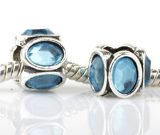 2pcs Charms Beads Fit sterling 925 Necklace European charm Bracelet Chain #M277