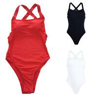Sexy Women One Piece Bikini Swimwear Push Up Bandage Monokini Swimsuit Beachwear