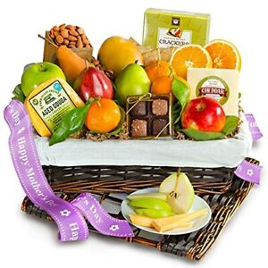 A Gift Inside Deluxe Fruit Basket Happy Mother's Day 1 Count