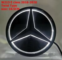 For Benz E Class W213 Illuminated LED Light Front Grille Star Emblem Badge 16-20