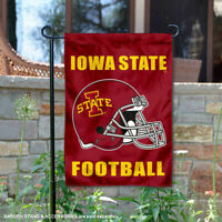Iowa State Cyclones Football Helmet Garden Flag and Yard Banner