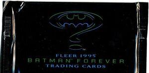 BATMAN FOREVER (Fleer 1995) single trading cards