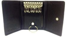 Osgoode Marley Leather 8 Hook Key Case 1595 Black Keycase