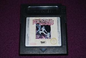 MONTEZUMA'S RETURN ! - Tarantula/Take-Two - Action Game Boy Color GBC EUR