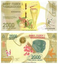 MADAGASCAR 2000 Ariary 2017 P-NUOVE BANCONOTE UNC