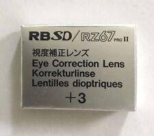 Mamiya RB/RZ +3 correction lens for Prism Finder corrección lente prismensucher
