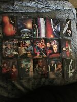 "(25) ""STAR TREK "" Trading Cards Lot Skybox Master Series 1993 NM/M"