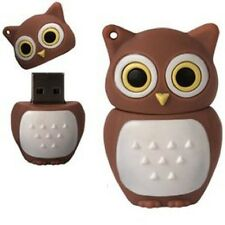 Cute brown owl bird animal kids 8GB USB 2.0 flash drive memory stick