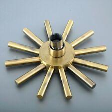 Bathroom Accessory Antique Brass Bath Sun Style Rain Shower Heads Gsh253