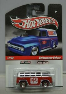 Hot Wheels Collectors.com Slick Ride Red Volkswagen Deluxe REAL RIDER 1:64