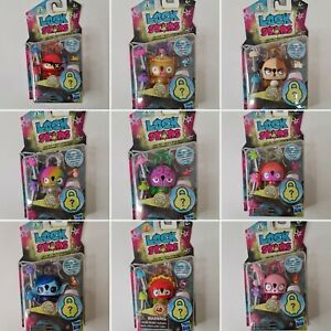 Lock Stars Series 1 & 2 Collect The Series / Favorite Lock Stars Choose From....