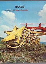 1979 SPERRY NEW HOLLAND RAKES SALES BROCHURE-FARM EQUIPMENT