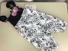 Sweet Heart Rose Infant Girls Baby Pink Black One Piece Party 6 mo / 9 mo MACYS