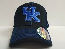 sale retailer 140cf b6c40 Kentucky Wildcats Cap Zephyr Stretch Fit Fitted Black Finisher Hat NCAA