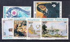 French Polynesia Scott C168, C194-C197, C208 Mint NH (Catalog Value $34.40)