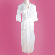 Sexy Women Long Kimono Dressing Gown Bath Robe Babydoll Lingerie Nightdress