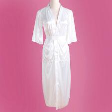 Sexy Women Long Kimono Dressing Gown Bath Robe Babydoll Lingerie Nightdress LE