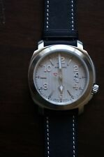 Anonimo Men's Sailor Swiss Automatic Black Leather Strap Watch AM200001007A0
