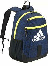 ADIDAS YOUTH Creator School Laptop Backpack HYDRATION MEDIA BLUE LIFETIME NEW