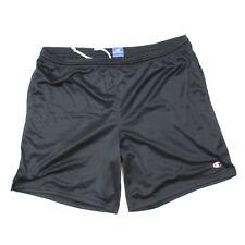 Champion Hombre XL Athletic Shorts Negro Perforado Fino Forro Ligero Corto cee537dc2e2ad