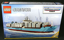 LEGO Creator Kit 10241 10241-1 Maersk Line Triple-E Ship - Retired Sealed NIB