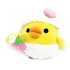 San-X Rilakkuma Kiiroitori Yellow Chick Bird Bath Time Bubble Plush Doll 9""