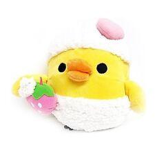 "San-X Rilakkuma Kiiroitori Yellow Chick Bird Bath Time Bubble Plush Doll 9"""