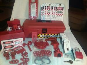 Ideal 44-974 Industrial Lockout/Tagout Kit - New