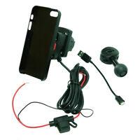 Fil Alimenté Vélo Miroir Montage & Tigra Mountcase Support Pour Iphone 5S