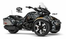 "Can Am Spyder F3T Decal Graphic Wrap kit - ""Rolling Heads"""