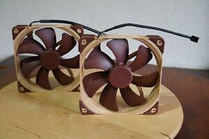 2 x Noctua NF-A14 140mm PWM Fans