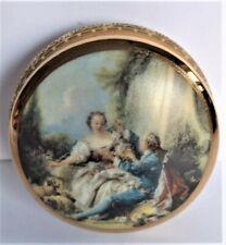Scatolina in Porcellana di Limoges Originale Rue Royal Firmata Marta Marzotto