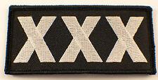 Tripple X Xxx Rated Motorcycle Uniform Patch Biker